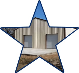 building quality commercial storage spaces with 5 starr metal builders in texas