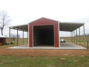 spacious agricultural construction by 5 starr metal