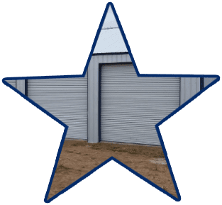 superior quality sheet metal used by 5 starr metal builders outbuilding contruction in texas