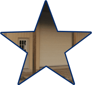 garage construction by 5 starr metal builders in texas