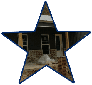 5 starr metal builders only use premium doors & windows in the poutbuilding constructions